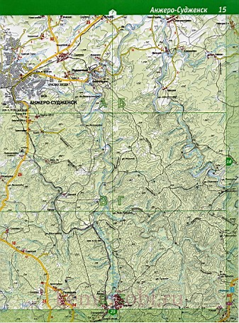 Карта Ижморского Района Кемеровской Области Подробная