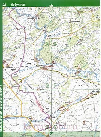 Тисульский Район Карта